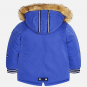náhled Baby boy coat with faux fur hood