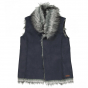 náhled Fluffy vest for girl